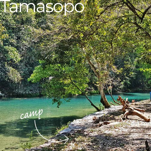 best mexican camp sites tamasopo