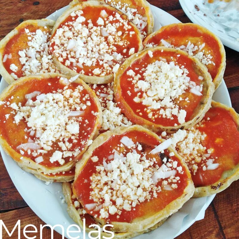 memelas regional mexican tacos